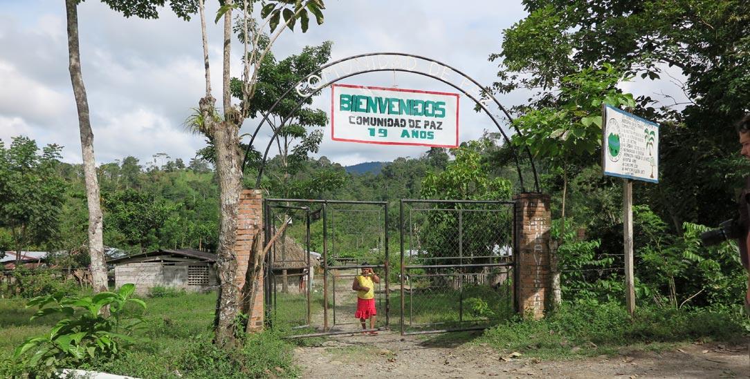 Von Frieden kann in Kolumbien keine Rede sein: Nicht nur die Gemeinde San José de Apartadó im Norden des Landes leidet unter den Anfeindungen der Paramilitärs (Foto: Knut Henkel)