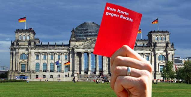 Die Politik hat nicht nur versagt: Wolfgang Thierse (SPD), Monika Lazar (Bündnis 90/Die Grünen) und  Stefan Ruppert (FDP) sind zum Beispiel drei Abgeordnete im Bundestag, die seit Jahren den Rechten konsequent entgegentreten  (Fotomontage: pa/Jensen)