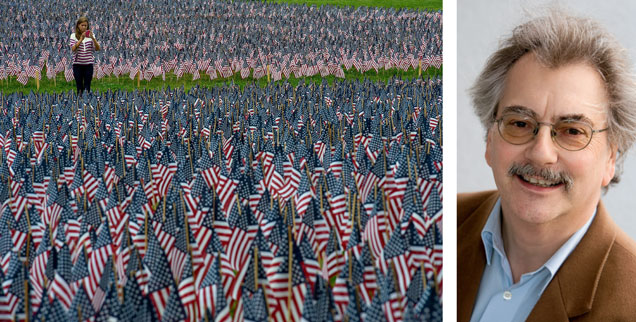 Amerikaner haben vor allem ihr eigenes Land im Blick und verstehen es, ihre Interessen in der Welt durchzusetzen - notfalls auch mit Waffengewalt. Publik-Forum-Chefredakteur Wolfgang Kessler schreibt über die USA, wo er Anfang der 1980er Jahre gelebt hat (Foto: pa/dpa/Gunther)