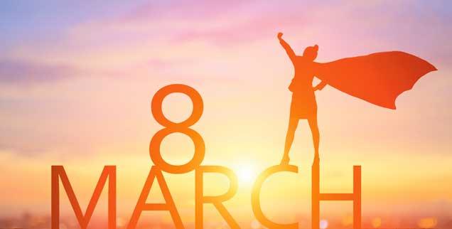 Der Internationale Frauentag wird seit rund einhundert Jahren weltweit am 8. März begangen, 1977 haben die Vereinten Nationen mit einer UN-Resolution diesen Tag zum »Tag für die Rechte der Frauen und den Weltfrieden« gemacht (Foto: istockphoto/RyanKing999)