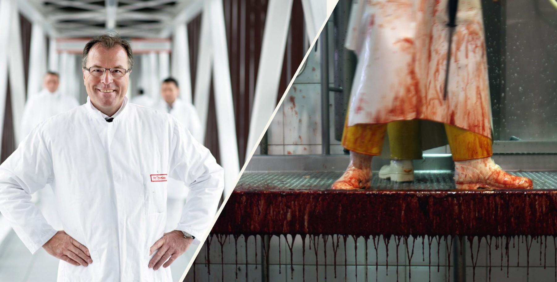 Tönnies und die Fleischindustrie (Fotos: PA/DPA/Bernd Thissen; Getty Images/iStockphoto/Marcelo Silva)