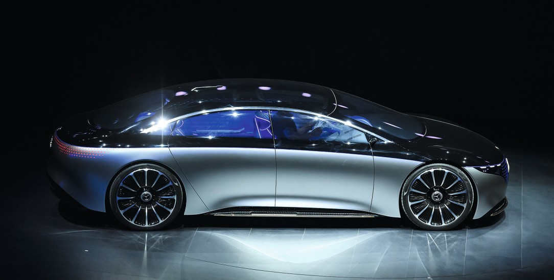 Was tun, wenn die Lust am Auto nachlässt? Hilft vielleicht der Mercedes Vision EQS? (Foto: pa/Huebner)