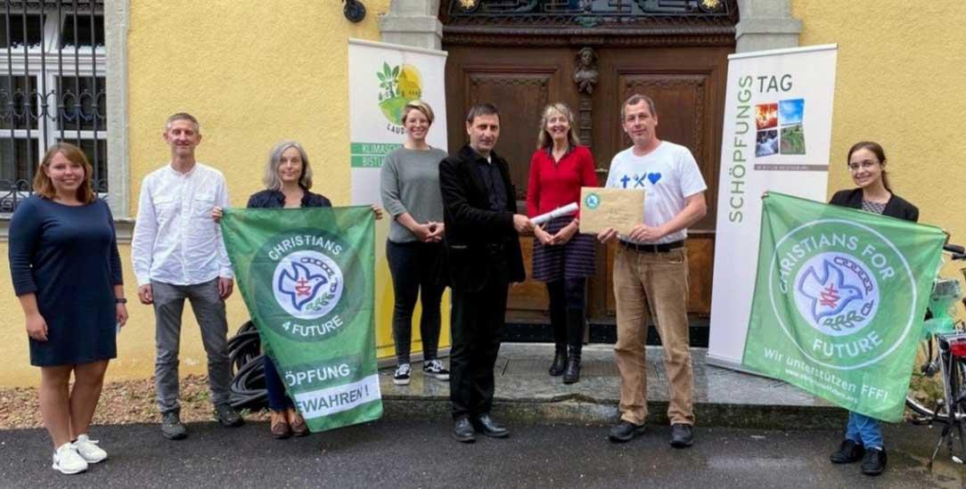 Mitglieder der Christians for Future in Regensburg (Foto: christians4future)