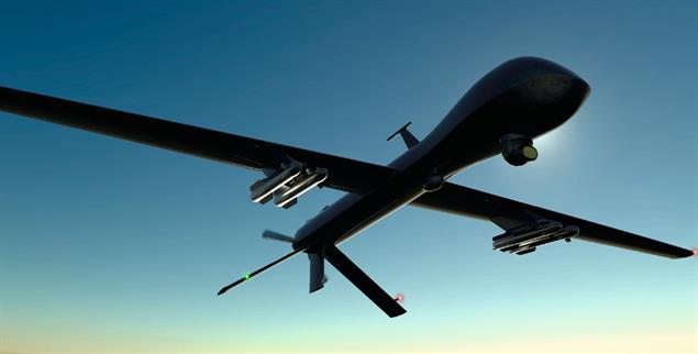 »Asymmetrischer Krieg«: US-Drohnenangriff auf ein Ziel in Bagdad(Foto: istockphoto/posteriori)
