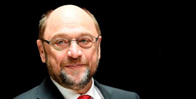 Martin Schulz kann wie kaum ein anderer in seiner Partei die alte sozialdemokatische Erzählung vom Aufstieg aus kleinen Verhältnissen mit seiner eigenen Lebensgeschichte füllen (Foto: pa/ Rehder)