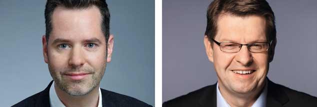 Den Soli komplett abschaffen? Ja, sagt Freidemokrat Christian Dürr (linkes Bild), wenn die Hilfe für Ostdeutschland ausläuft, müsse auch diese Sondersteuer wieder abgeschafft werden. Nein, meint Ralf Stegner, SPD, Spitzenverdiener sollten den Soli weiterhin bezahlen (Fotos: Presse)
