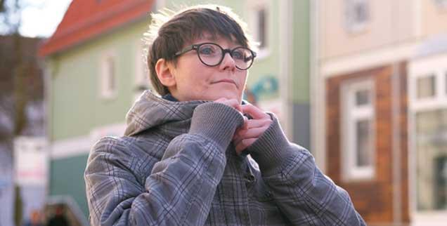 Kathrin Lubig  hat Krebs, aber sie will noch etwas von diesem Leben, sie will, dass es weitergeht.  (Foto: Grünberg)