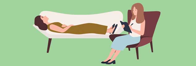 Millionen Menschen in Deutschland leiden an psychischen Erkrankungen, doch sie müssen viel länger auf Hilfe warten als Patienten mit akuten körperlichen Leiden (Illustration: istockphoto/Good_Studio)