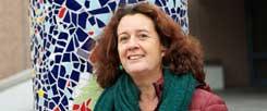 Schulsozialarbeiterin Brigitte Thull: Sie erfährt mehr von den Schülern als mancher Lehrer (Foto: Petersen)