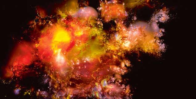 Die Welt, ihre Entstehung, ihr Sinn: ein Rätsel, trotz aller Erkenntnisse der Naturwissenschaften. Bilder suggerieren Wissen, wo sich oft eher Fragen auftun. (Foto: PA/diekleinert.de/Mario Heyer)