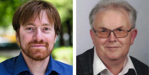 Glyphosat jetzt verbieten? Karl Bär (links) sagt: Ja! Manfred Koppenhagen (rechts) sagt: Nein! (Fotos: Pressebild/Bär; privat)