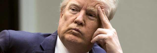 Warum so skeptisch, Mr. President? Sagen Sie einfach mal »Danke!« Anlass gibt es genug! (Foto: pa/Reynolds)