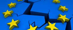 Ein Riss zieht sich durch Europa: Die Priorität liegt bei Konkurrenz und Markt, soziale Fragen bleiben außen vor, über neue Modelle einer wirtschaftlichen und gleichzeitig gerechten Entwicklung wird nicht diskutiert (Foto: bluedesign/Fotolia)