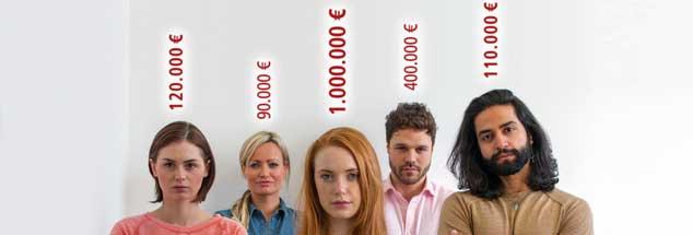 Kann man den Wert eines Menschen beziffern? Sicher nicht, und doch tun sich bei dieser Frage Abgründe auf: wenn Hinterbliebene von Anschlagsopfern unterschiedlich entschädigt werden, wenn man die großen Gehaltsunterschiede in der Wirtschaft betrachtet oder wenn man sieht, dass auch in Europa Menschen als Sklaven leben (Foto: istockphoto/SolStock)