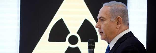 Der israelische Ministerpräsident Benjamin Netanjahu wirft dem Iran vor, heimlich am Bau von Atomwaffen zu arbeiten, Beweise dafür legte er allerdings nicht vor (Foto: pa/Reuters/Amir Cohen)