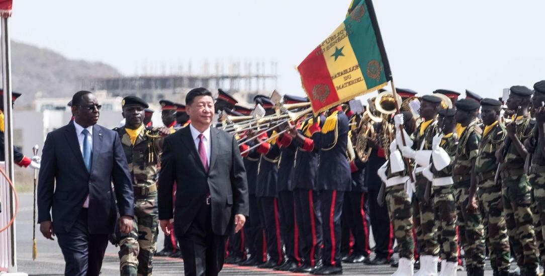 Lorem ipsumChinas Präsident Xi Jinping besucht den Senegal (PA/AP Photo/Xaume Olleros)