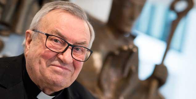 Er war ein humorvoller Theologe und Seelsorger: Der frühere Mainzer Bischof Karl Lehmann ist am 11. März gestorben (Foto: pa/Roessler)