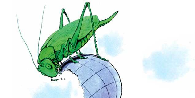Von der Finanzkrise haben sich die Spekulanten längst erholt, Finanzmarkt-Kritiker  sehen in den Schattenbanken die größte Gefahr für die Weltwirtschaft (Zeichnung: Mester)