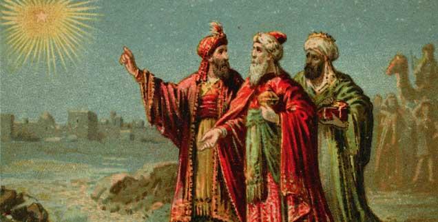 Magier aus dem Morgenland - oder drei Heilige Könige? Diese Herren haben schon viele Namen bekommen. Eva Baumann-Lerch mag sie, auch wenn sie weder adelig noch heilig sind. (Foto: pa/akg-images)