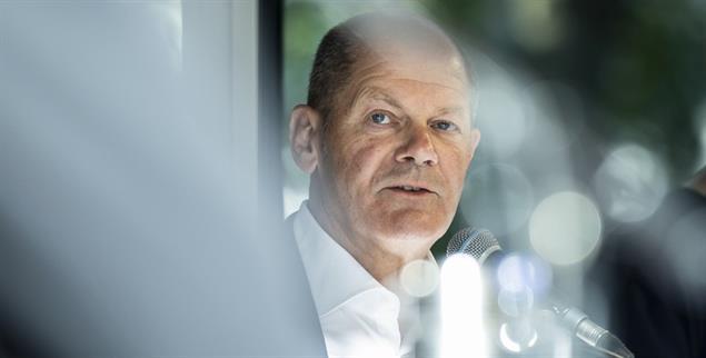 Mit »Respekt« die SPD wieder respektabel gemacht: Olaf Scholz. (Foto: PA/Photothek/Florian Gaertner)