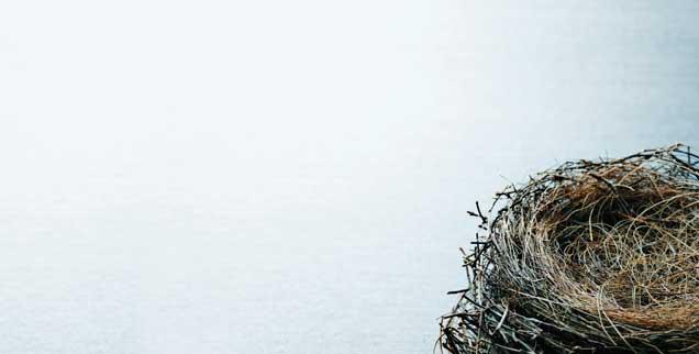 Wenn Kinder ausziehen, können Eltern, meistens sind es Mütter, in eine Depression rutschen, man nennt das auch das »Emty-Nest-Syndrom« (Foto: istockphoto/DNY59)