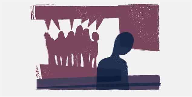 Ausgrenzung schafft Identitäten - für Ausgegrenzte und vermeintlich Normale. (Grafik: Getty Images/iStockphoto/borisz)