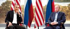 Das große Schweigen: US-Präsident Barack Obama und Russlands Staatspräsident Vladimir Putin auf dem G-8-Treffen 2013 in Nordirland. (Foto: Lamarque/Reuters)