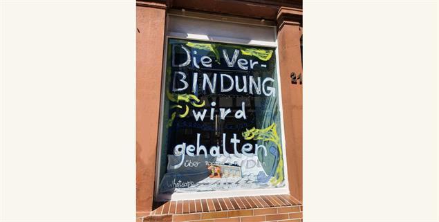 Gesehen am Karfreitag in der Altstadt von Bad Camberg. (Foto: Sabine Felbinger)
