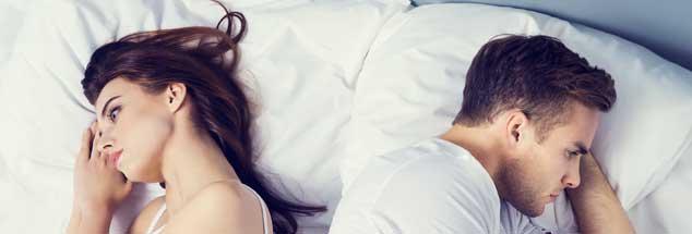 Keine Nähe mehr möglich? Sexuelle Probleme sind oft nur ein Symptom für Verletztheit und Enttäuschung. (Foto: VGSTUDIO/Fotolia)