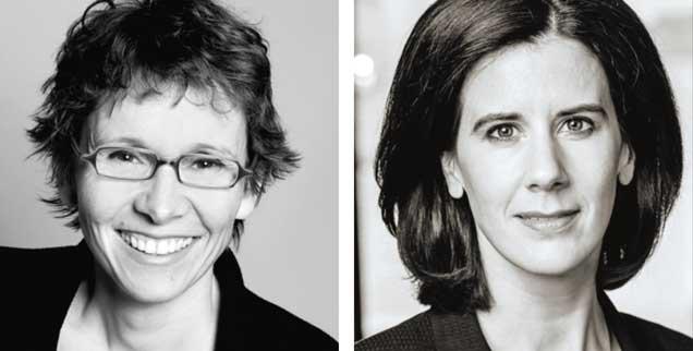 Sexistische Werbung verbieten? Almut Schnerring (links) sagt: »Ja!« Katja Suding (rechts) sagt: »Nein!« (Fotos: privat; Berg/FDP-Fraktion)