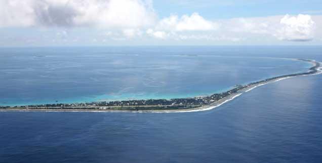 Tuvalu Insel