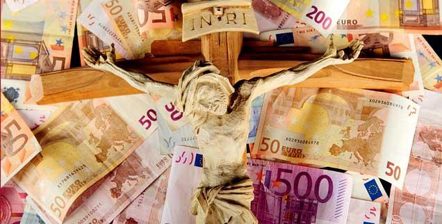 Geld und Gott: Gibt es da einen Zusammenhang? (Foto: Firma V/Fotolia)