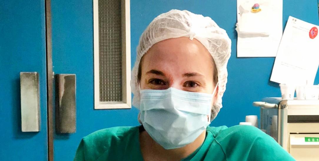 Traumberuf Krankenschwester: Cristina Ortonobes Alsedà arbeitet in einem Krankenhaus in Barcelona – zuletzt viele Monate auf der Corona-Intensivstation (Foto: Barbera)
