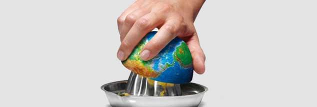 Ausgepresst wie eine Zitrone: Die Erde ist am 2. August eigentlich am Ende. Nun leben wir auf Kosten künftiger Generationen. (Foto: BJ Hale via Flickr)