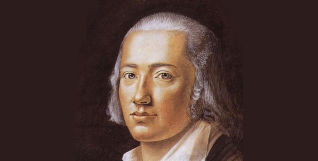 Friedrich Hölderlin: So malte ihn 1792Franz Carl Hiemer