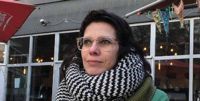 Einfach leben: Jana Gebauer fliegt nicht, fährt kein Auto und kauft vor allem Gebrauchtes (Foto: Scheffer)