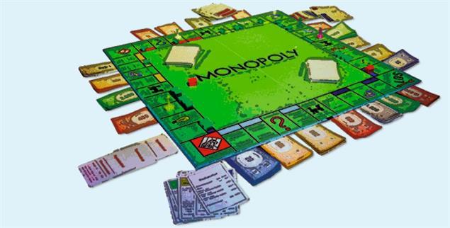 Am Ende gibt's immer eine Explosion: Monopoly am Silvesterabend (Foto: Wikipedia/Horst Frank)