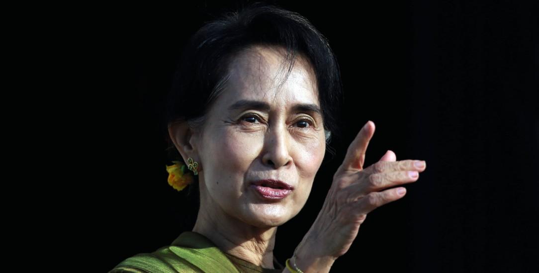 Nach dem Militärputsch in Haft: Aung San Suu Kyi, De-facto-Regierungschefin von Myanmar (Foto: pa Reuters/Cathal McNaughton)