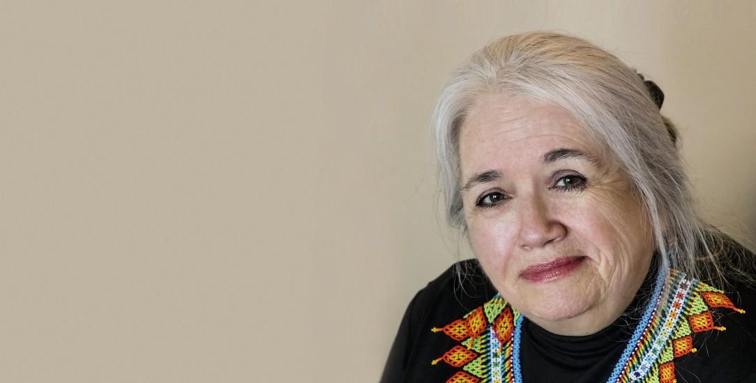 Preisgekrönte Autorin aus dem Stamm der Cree: Michelle Good (Foto: pa/Kent Wong)