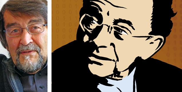 Vor vierzig Jahren erschien »Haben oder Sein«, das Kultbuch des Philosophen Erich Fromm (rechts). Der Psychoanalytiker Rainer Funk (links) fragt sich: Gilt seine Botschaft auch noch in Zeiten des Internets?  (Foto: Privat. Grafik: pa/Ludwig; Bearbeitung:Publik-Forum)