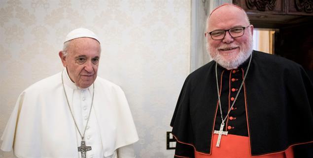 Über eine Demutsgeste zu neuer Größe: Kardinal Marx sitzt nach seinem Rücktrittsangebot fester im Sattel als zuvor (Foto: KNA)