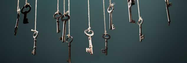Wer hat den Schüssel zur Wahrheit? Das Geheimnis ist: Es braucht mehr als einen ... (Foto: istockphoto/stocksnapper)