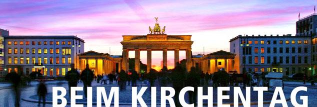 Das Brandenburger Tor im Herzen Berlins: Über 100.000 Menschen werden zum Kirchentag erwartet, der am Mittwoch, 24. Mai, beginnt. (Foto: pa/westend61/Tamboly)