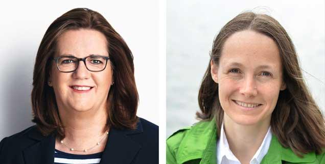 """Ist ein Israel-Boykott antisemitisch? """"Ja!"""", sagt Kerstin Griese (links). """"Nein!"""", meint Ingrid Nestle. (Fotos: kerstin-griese.de; ingrid-nestle.de)"""