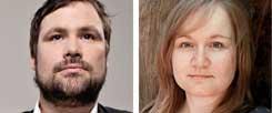 Markus Reuter will seine Daten vor einer Weitergabe an Facebook schützen und lehnt WhatsApp deswegen ab,Tina Sieber hält mithilfe von WhatsApp den Kontakt zu weit entfernt lebenden Verwandten und Freunden, für sie macht ein Boykott keinen Sinn (Fotos: privat)