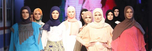 Ein neues Selbstbewusstsein: Immer mehr muslimische Designerinnen haben Erfolg mit farbenfroher Mode, die verhüllt (Foto: Said)