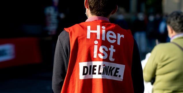 Die Linke wäre da als Koalitionspartner, aber SPD und Grüne grenzen sich von ihr ab. Warum eigentlich?(Foto: PA/Hauke-Christian Dittrich)