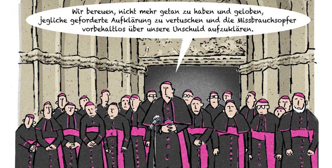 (Zeichnung: PA/Die Kleinert/Jan Rieckhoff)
