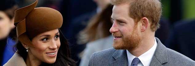 Amerikanerin heiratet royalen Briten: Meghan Markle und Prinz Harry geben sich heute das Ja-Wort. (Foto: pa/Grant)