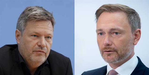Politisch vereinbar? Robert Habeck und Christian Lindner (Fotos: pa/Flashpic; pa/Nietfeld)